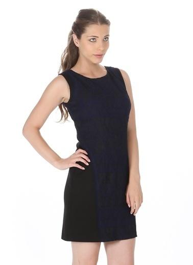 Limon Company Kolsuz Mini Elbise Lacivert